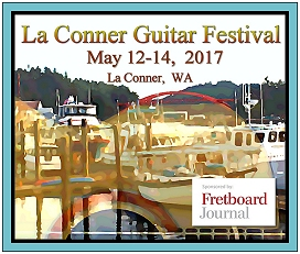 La Conner Guitar Festival May 12-14, 2017